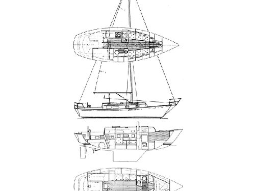 Illustration of an Aloha 32