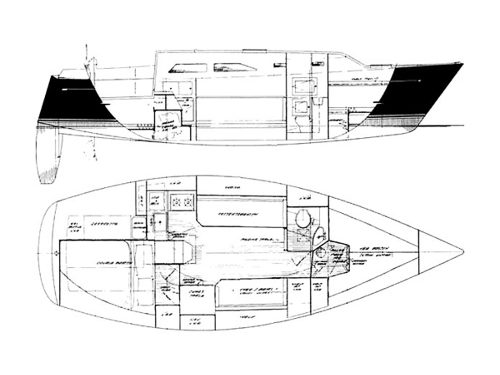 Illustration of a Freedom 30
