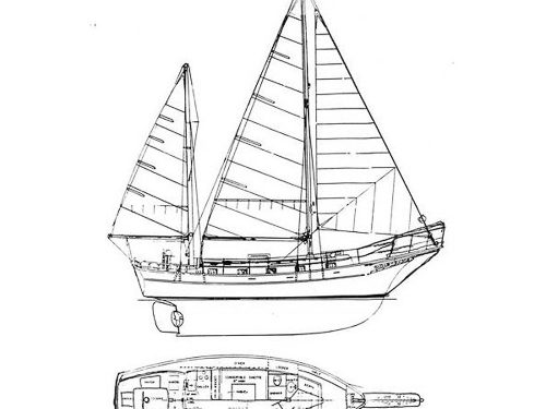 Illustration of an Island Trader 38