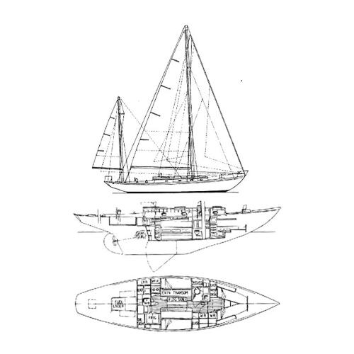 Illustration of a Rhodes 29